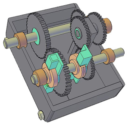 Unidirectional gear